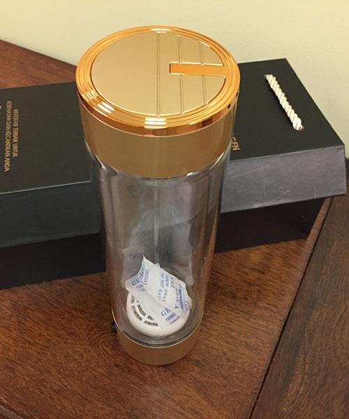hydrogen flask