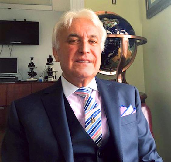 Prof Khoshbin Photo